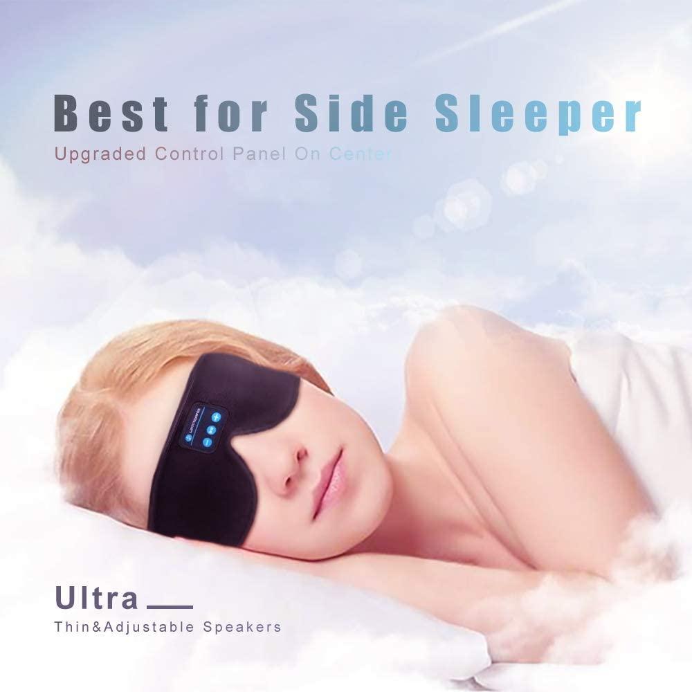 Sleep Headphones, Bluetooth 5.0 Wireless 3D Eye Mask