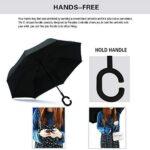 Spar. Saa Inverted Umbrella with C-Shaped Handle